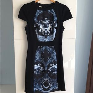 NWT Anthropology Ali Ro Black Bodycon Dress sz. 2